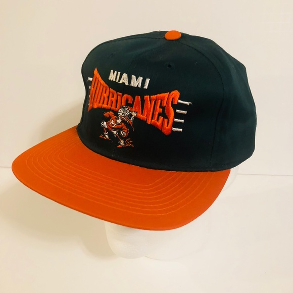 The G Cap Other - Vintage G Cap Miami Hurricanes SnapBack